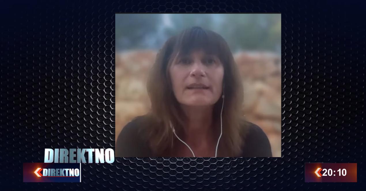 Dr. Nevenka Tromp in The talk show Direktno, Sarajevo TV