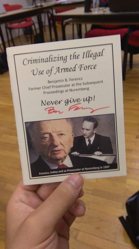 BEN FERENCZ's LEGACY_NEVER GIVE UP